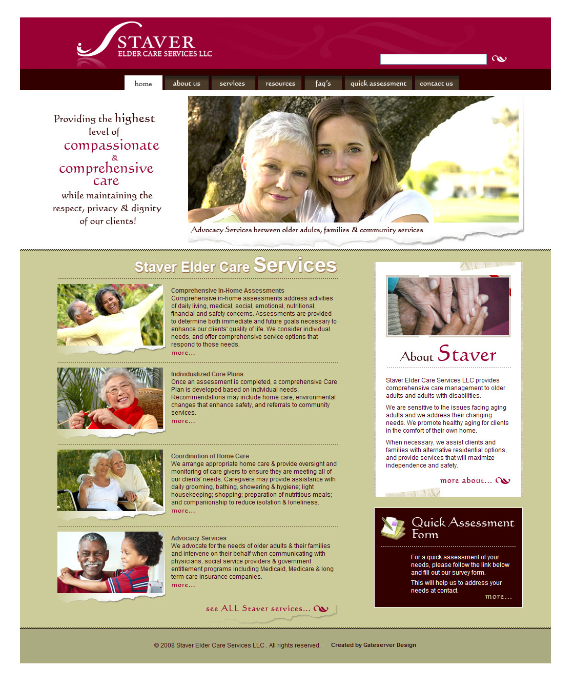 Day adult health brochure